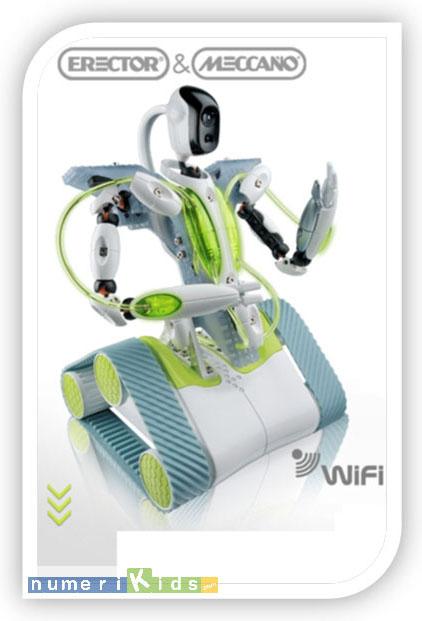 Le robot Spykee de Meccano