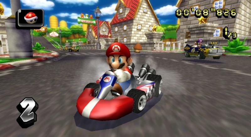 Mario Kart sur Wii