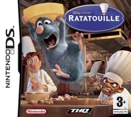 Jeu Ratatouille sur DS