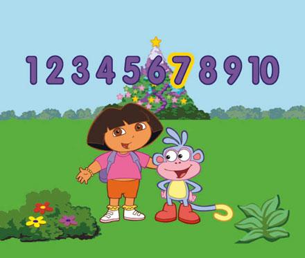 jeu Dora pour Smart Cycle de Fisher Price