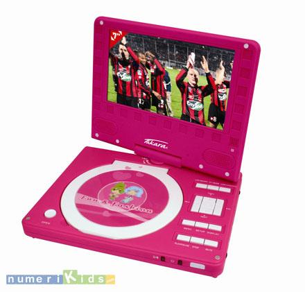Lecteur de DVD portable DIV89R de Takara