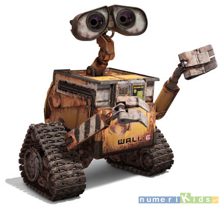 Wall-e, Le robot Disney / Pixar