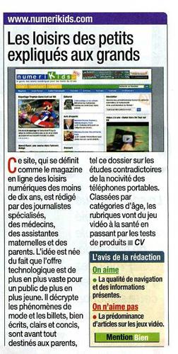 Article Micro Hebdo 28 aout 2008