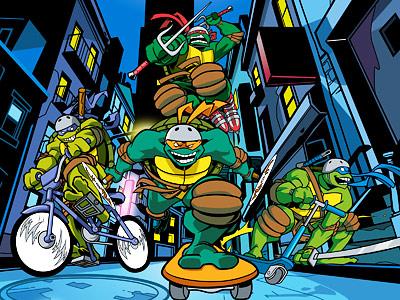 Les Tortues Ninja bientôt de retour en jeu vidéo