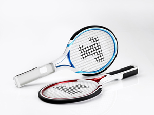 une raquette de tennis sur wii presque vraie pour les. Black Bedroom Furniture Sets. Home Design Ideas