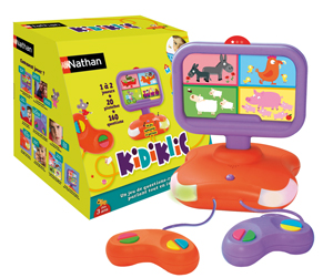 kidiklic la nouvelle console de jeux vid o pour les enfants de 3 ans. Black Bedroom Furniture Sets. Home Design Ideas
