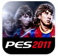 Promotion sur l&#8217;application PES 2011 sur iPhone/iPod Touch et Android