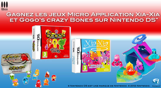 Jeux vido Nintendo DS  gagner pour les enfants !