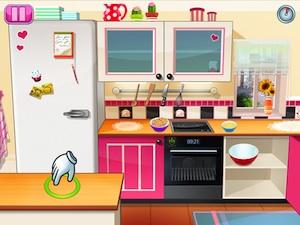 application l'ecole de cuisine de sara, le jeu pour faire semblant