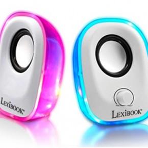 lexibook enceintes pour tablette