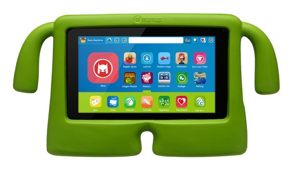 Tablette enfant SlidePad Kids de Memup