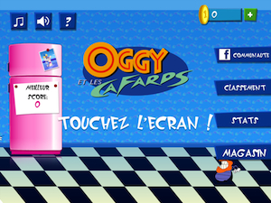 Application Oggy et les cafards