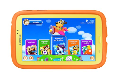 Tablette enfant SAMSUNG GALAXY TAB 3 KIDS