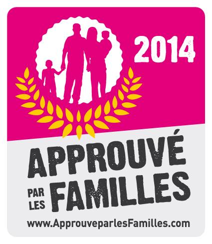 Label Approuvé par les Familles