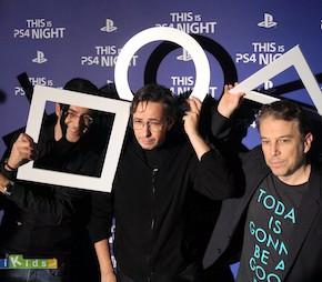 Soirée de lancement de la console Sony PS4