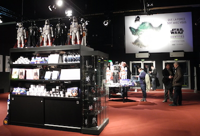 Boutique Exposition Star Wars Identities