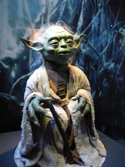Maitre Yoda - Exposition Star Wars Identities - Paris - 2014