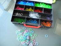 boite rangement bracelet loom