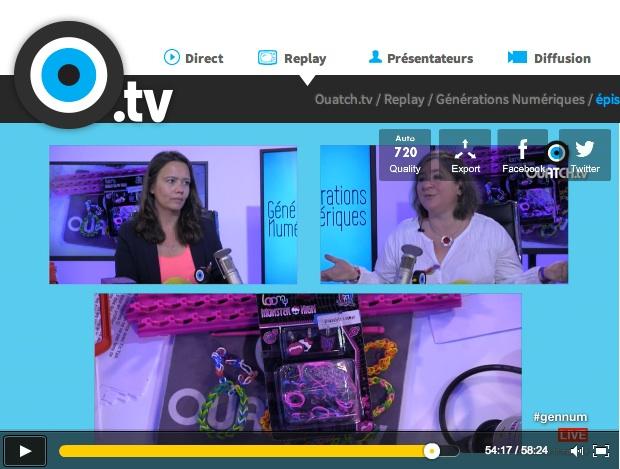 Générations Numériques sur OUATCH.tv
