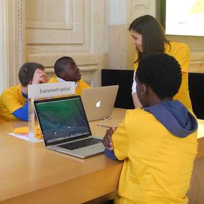Atelier Apple pour les enfants