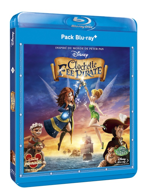 DVD Blu-ray Clochette et la fée pirate