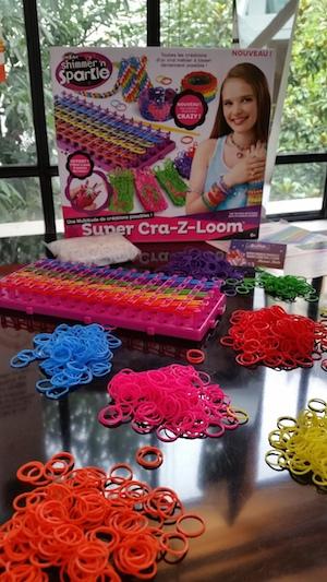 Super Cra-Z-Loom, le métier à tisser des bracelets élastiques géant