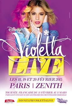 Concert Violetta France 2015
