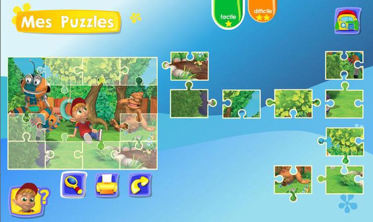 Puzzle Adibou