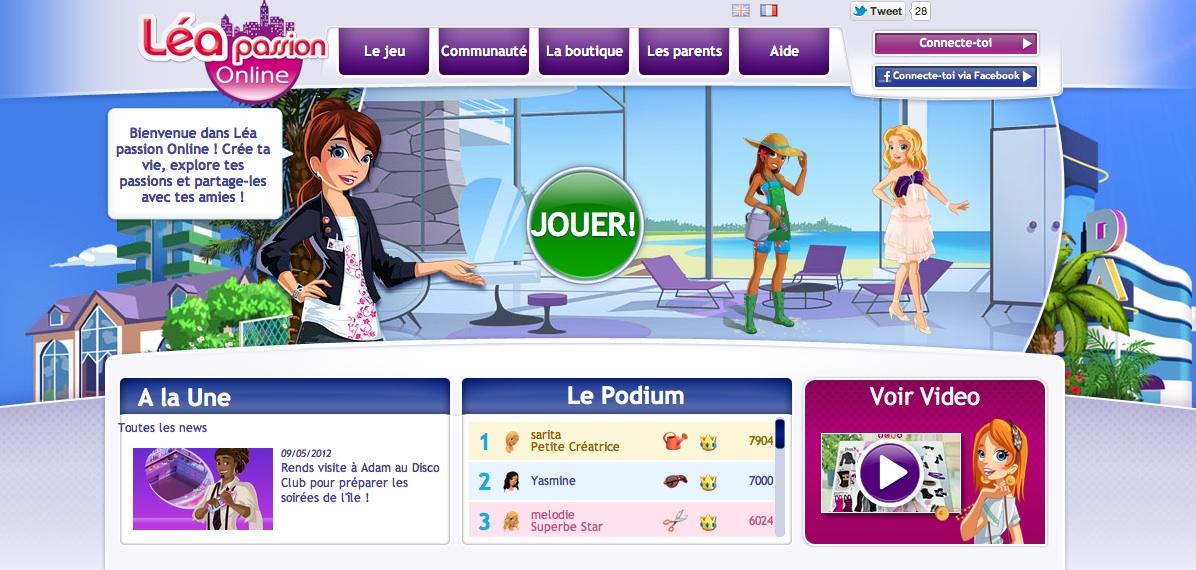 jeux en ligne fille