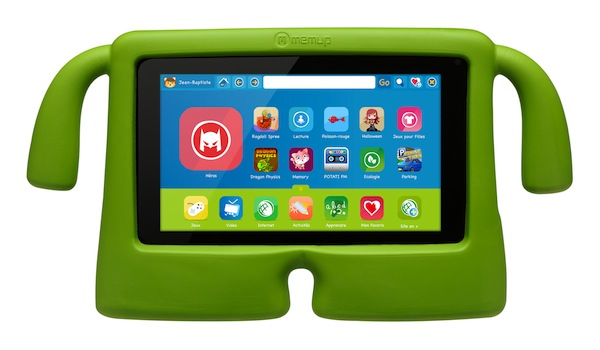 Tablette enfant SlidePad Kids de Memup