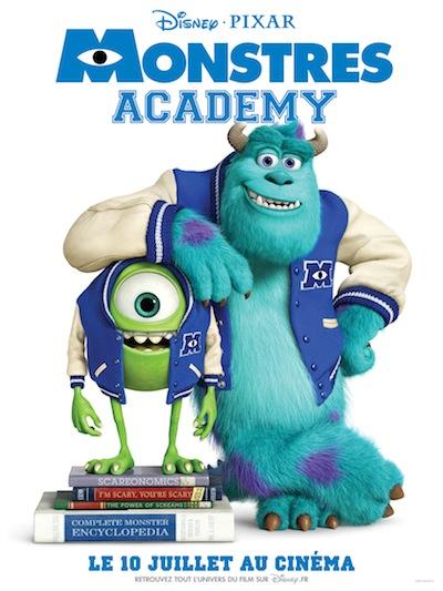 Monstres Academy le 10 juillet au cinéma