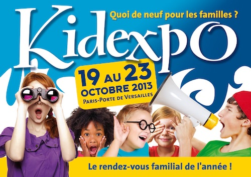 Salon Kidexpo 2013 du 19 au 23 octobre 2013