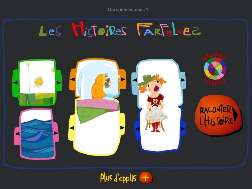 App Les Histoires Farfelues