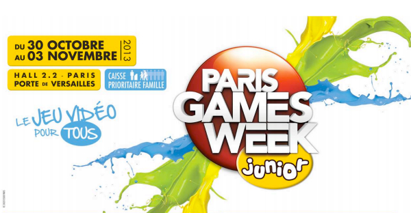 Paris Games Week Junior 2013
