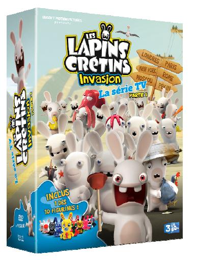 Les Lapins crétins, l'invasion partie 1 - Coffret DVD