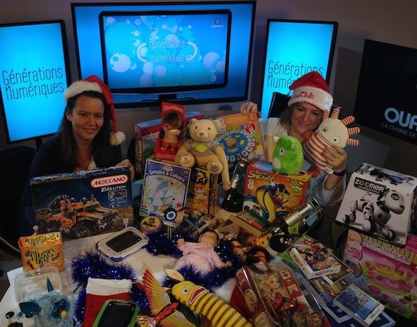 Sélection de jouets Noël 2013