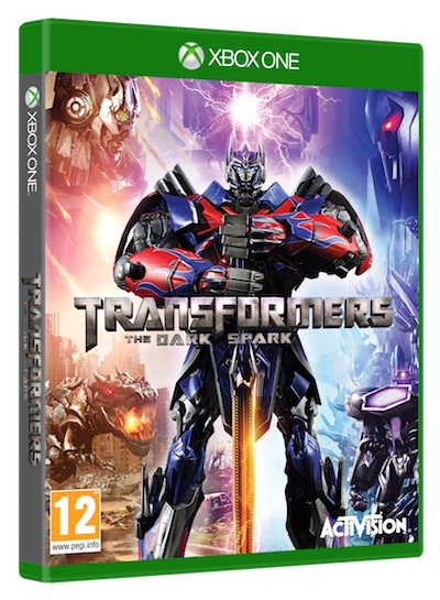 Jeu video Transfomers the dark spark d'Activision