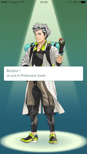 Professeur Saule - Pokémon Go