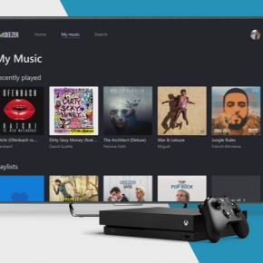 Deezer sur Microsoft XboxOne