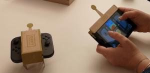 Nintendo Labo voiture téléguidée